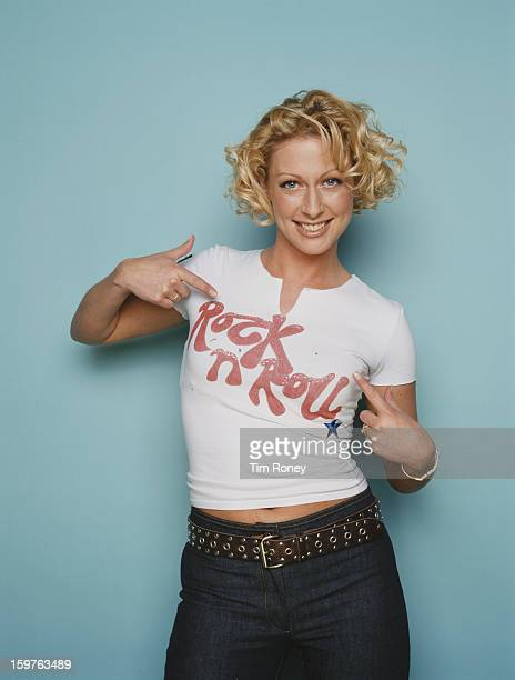 English singer Faye Tozer of the pop group Steps circa 1998