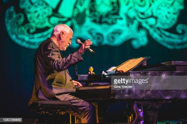 English singer Gary Brooker of Procol Harum performs live on stage during a concert at the Admiralspalast on October 16 2018 in Berlin Germany