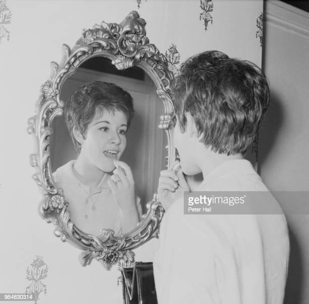 English singer Helen Shapiro stars in 'Saturday Night at the Palladium' London October 1961