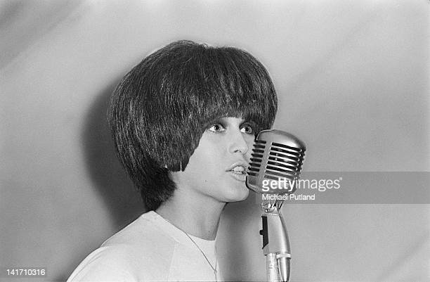 English singer Julie Driscoll performing with Steampacket at the Uxbridge Blues Festival 18th June 1966