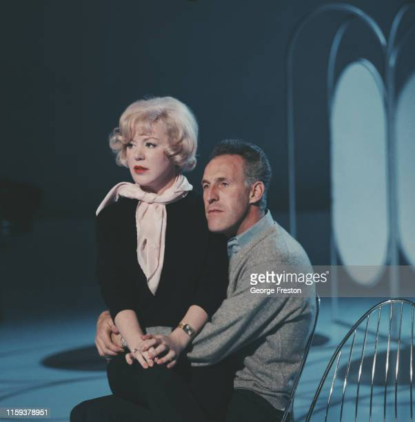 English singer Kathy Kirby rehearsing with Bruce Forsyth for her guest appearance on 'The Bruce Forsyth Show' at the ABC Television Studios in...