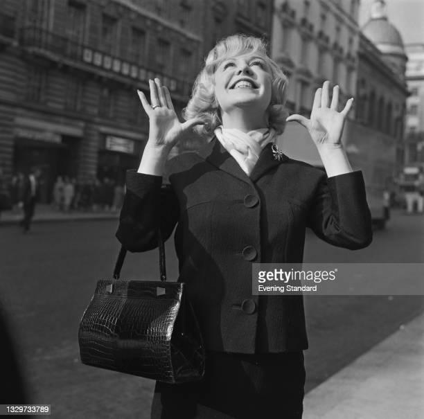 English singer Kathy Kirby , UK, 22nd October 1964.