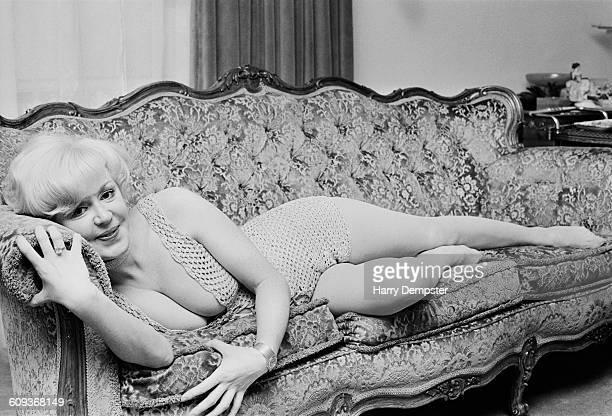 English singer Kathy Kirby UK April 1971