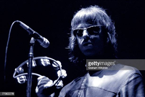 English singer Liam Gallagher of Manchester group Oasis circa 2000