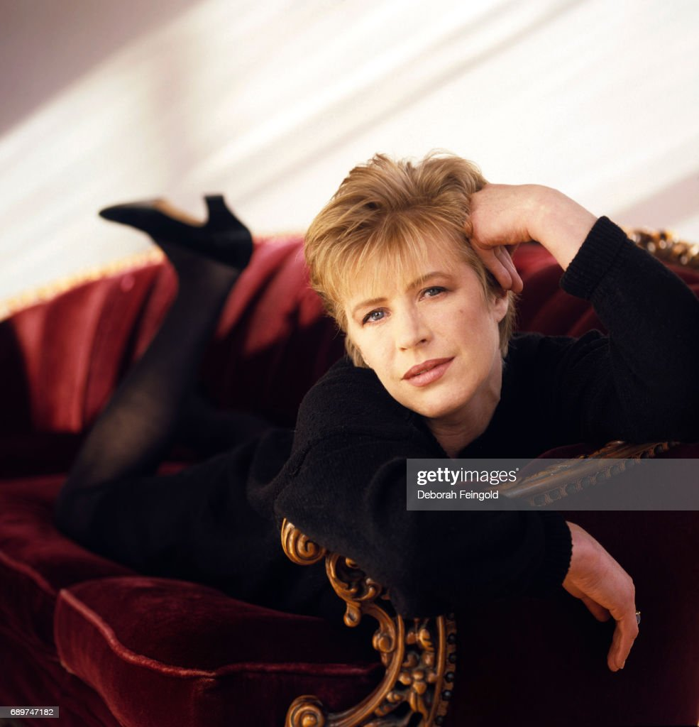 English singer Marianne Faithfull poses for a portrait in 1989 in New York City, New York.
