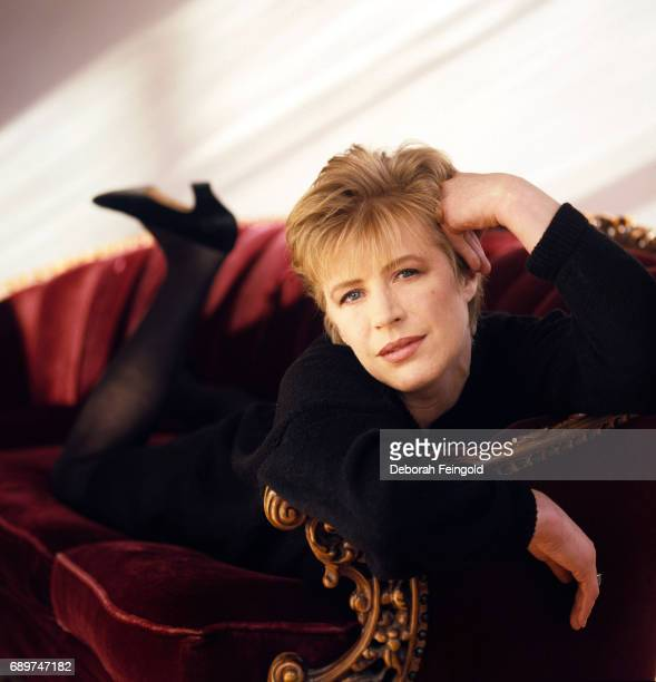 English singer Marianne Faithfull poses for a portrait in 1989 in New York City New York