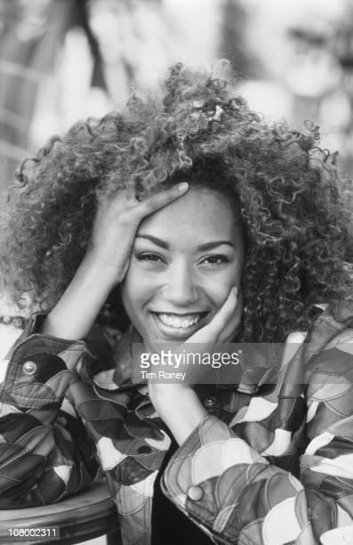 English singer Melanie Brown aka Mel B aka Scary Spice of the Spice Girls in Paris September 1996