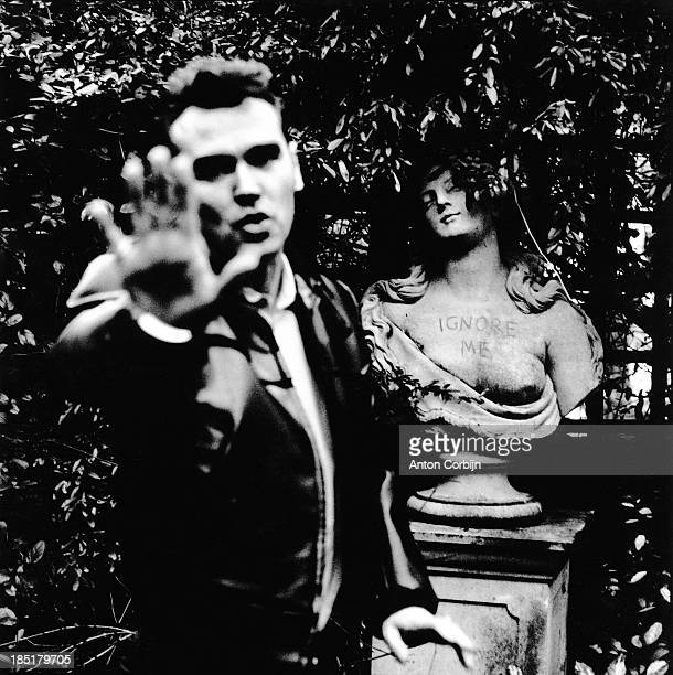 English singer Morrissey is photographed for Details Magazine on 1994 in London, England.