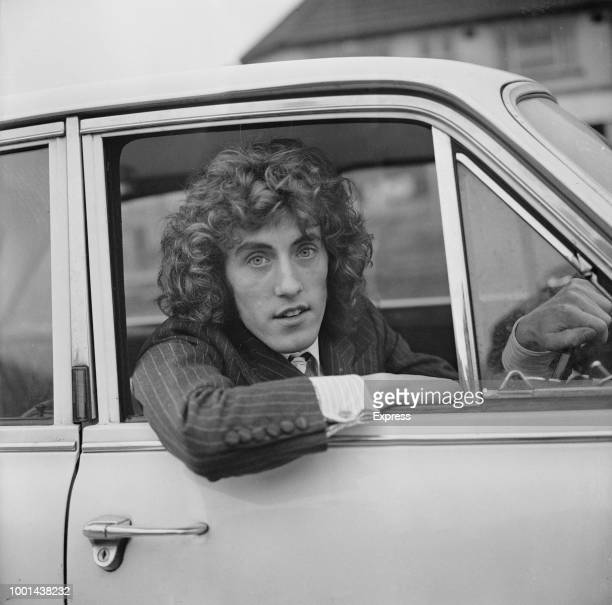 English singer musician and actor Roger Daltrey singer in the rock band The Who UK 25th January 1969