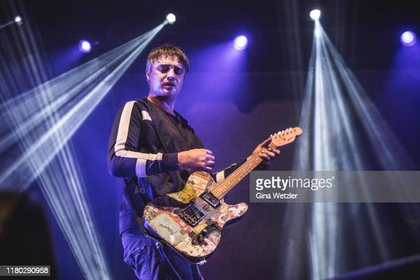 English singer Pete Doherty of The Libertines performs live on stage during a concert at Columbiahalle on November 5, 2019 in Berlin, Germany.