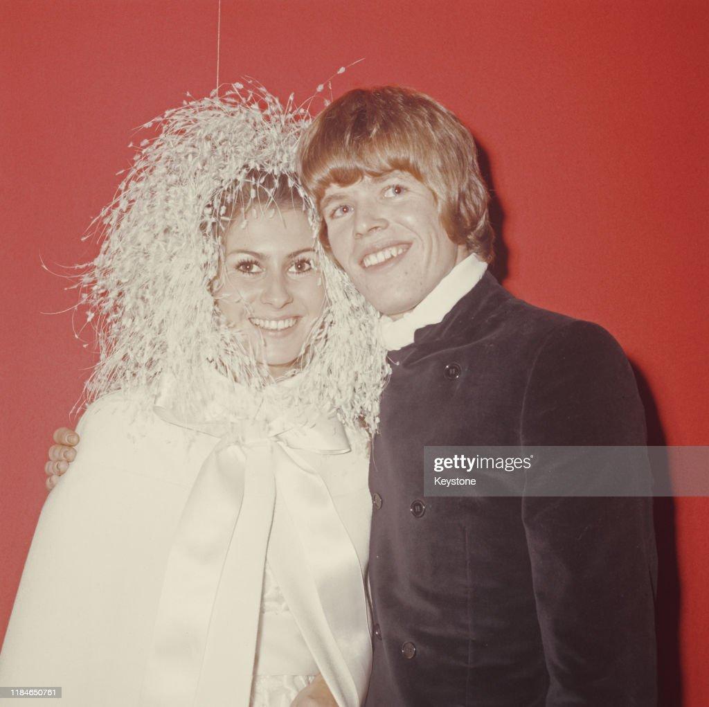 Peter Noone's Wedding : News Photo