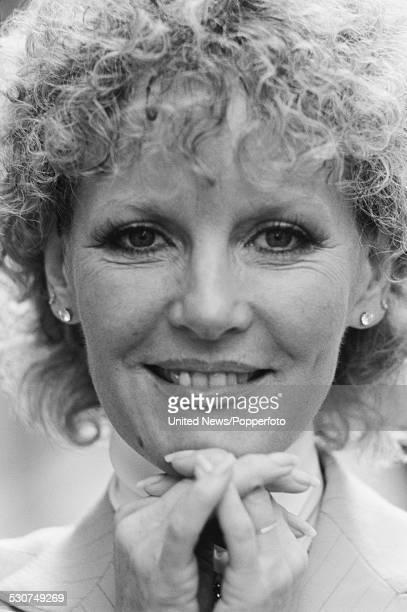 English singer Petula Clark posed in London on 5th November 1977