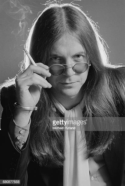 English singer Phil May of rock group The Pretty Things 28th October 1974