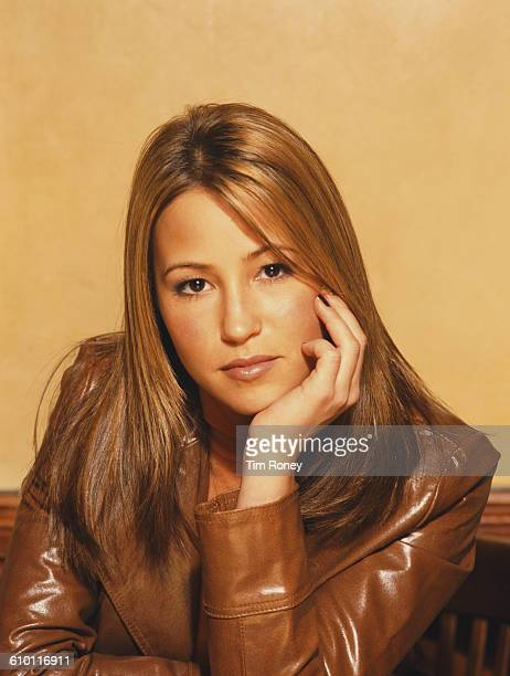 English singer Rachel Stevens from the pop group S Club circa 2002