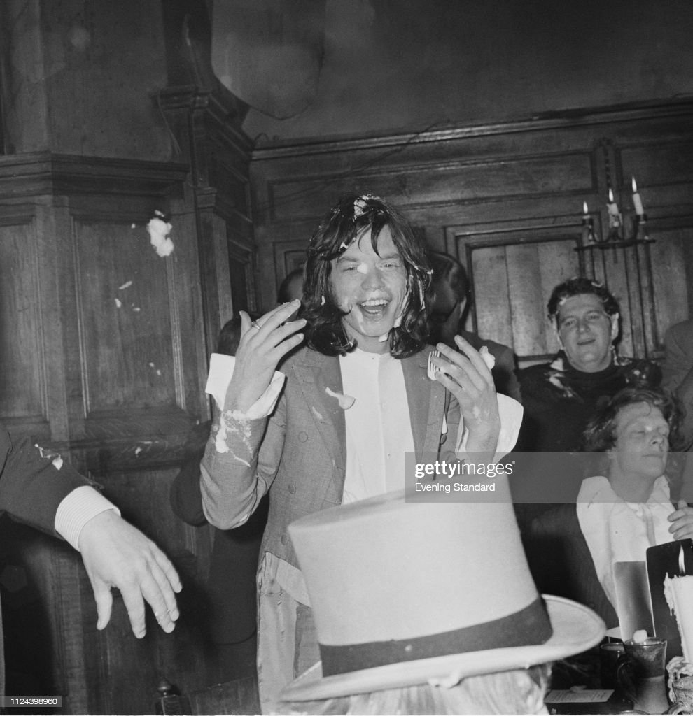 English singer, songwriter, actor and film producer Mick Jagger at ...
