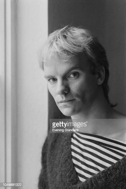 English singer, songwriter, and actor Sting, UK, 26th September 1979.
