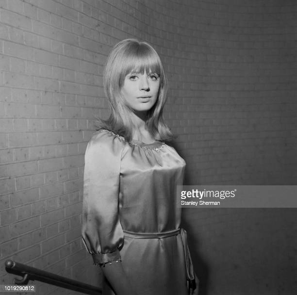 English singer songwriter and actress Marianne Faithfull UK 25th May 1965