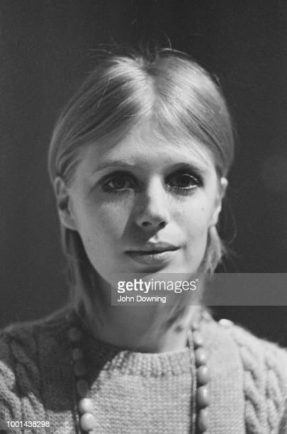 English singer songwriter and actress Marianne Faithfull UK 29th January 1969