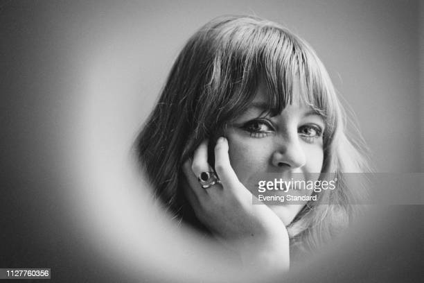 English singer, songwriter and keyboardist Christine McVie of rock band Fleetwood Mac, UK, 18th January 1969.