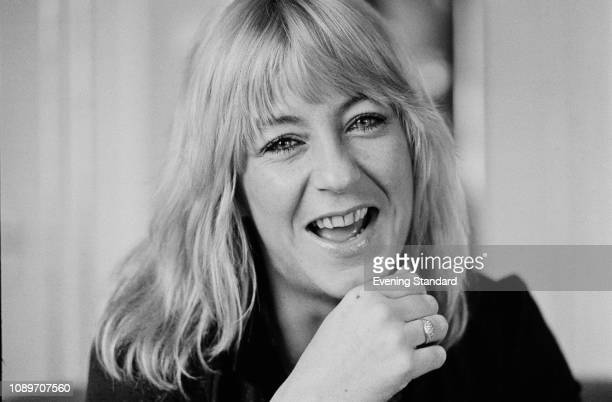 English singer, songwriter and keyboardist Christine McVie, UK, 13th June 1980.