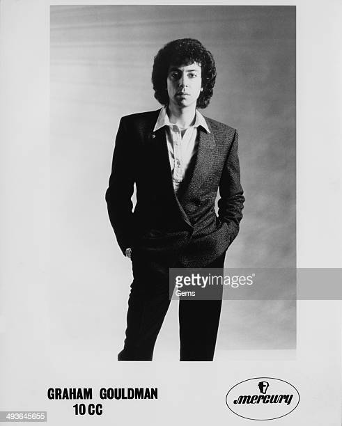 English singer songwriter and musician Graham Gouldman of English band 10cc circa 1978