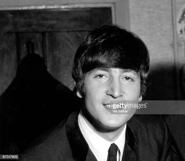 English singer songwriter and musician John Lennon 1964