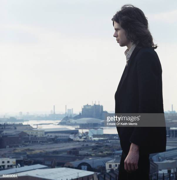 English singer songwriter and musician Nick Drake in London 16th August 1970