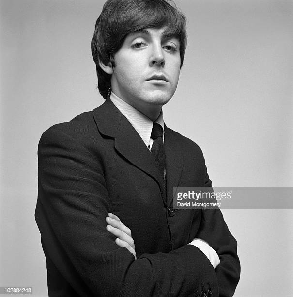 English singer songwriter and musician Paul McCartney 1965