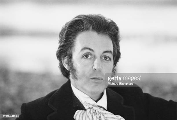 English singer songwriter and musician Paul McCartney as he appears in the film 'Give My Regards to Broad Street' 1984 He also wrote the screenplay...