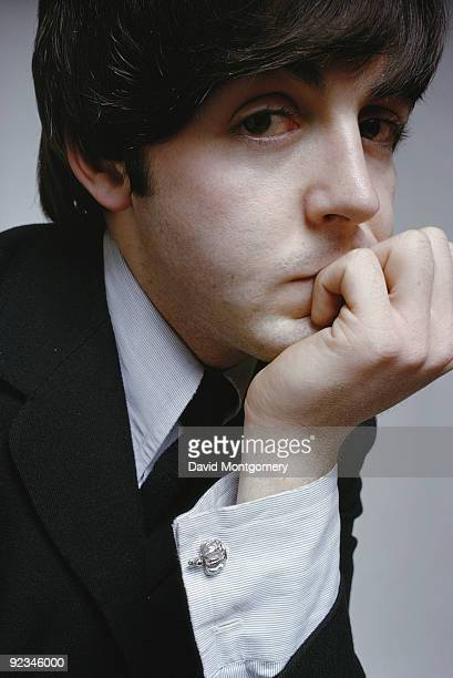 English singer songwriter and musician Paul McCartney December 1965
