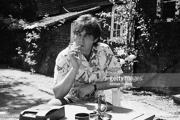 English singer songwriter and pianist Gary Brooker of English pop group Procul Harum 9th August 1973