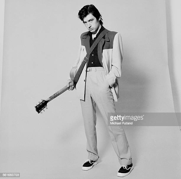 English singer, songwriter, musician, and producer, Chris Spedding, October 1975.