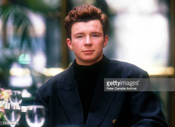 English singer songwriter Rick Astley in 1988 in New York City