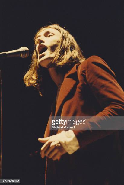 English singer Steve Winwood of Traffic performs in a stage version of The Who's rock opera 'Tommy' at the Rainbow Theatre London 9th December 1972