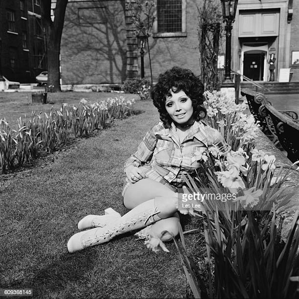 English singer Susan Maughan London UK 15th April 1971 She is to appear in a Tommy Steele show at the Adelphi Theatre in London