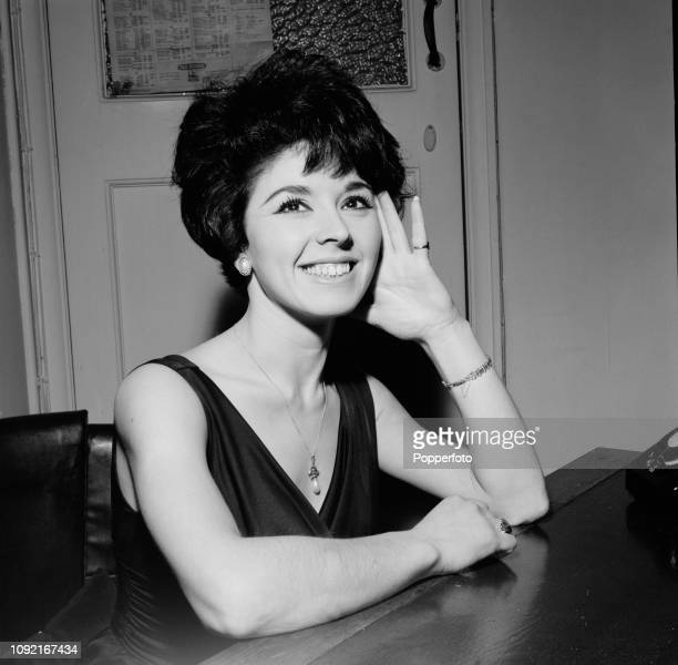 English singer Susan Maughan new vocalist in the Ray Ellington Quartet in London in December 1961
