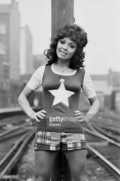 English singer Susan Maughan UK 10th July 1971 She is on her way to Belgium to represent Britain in the Knokke Song Festival