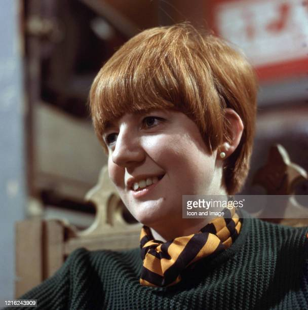 English singer television presenter actress and author Priscilla Maria Veronica White better known as Cilla Black was in London England 1965