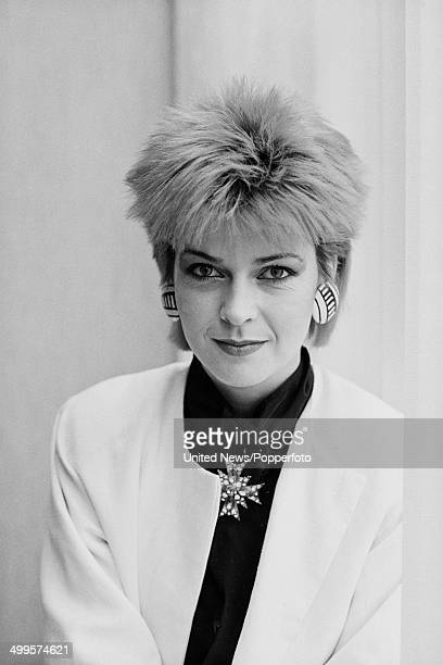 English singer Toyah Wilcox posed in London on 4th December 1984