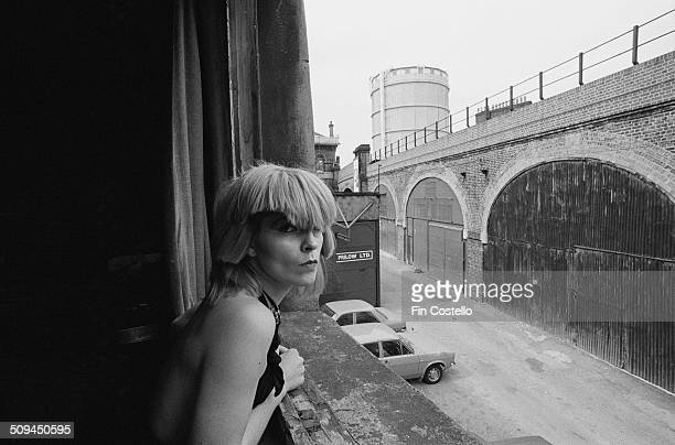 English singer Toyah Willcox of the band Toyah in Battersea London July 1980