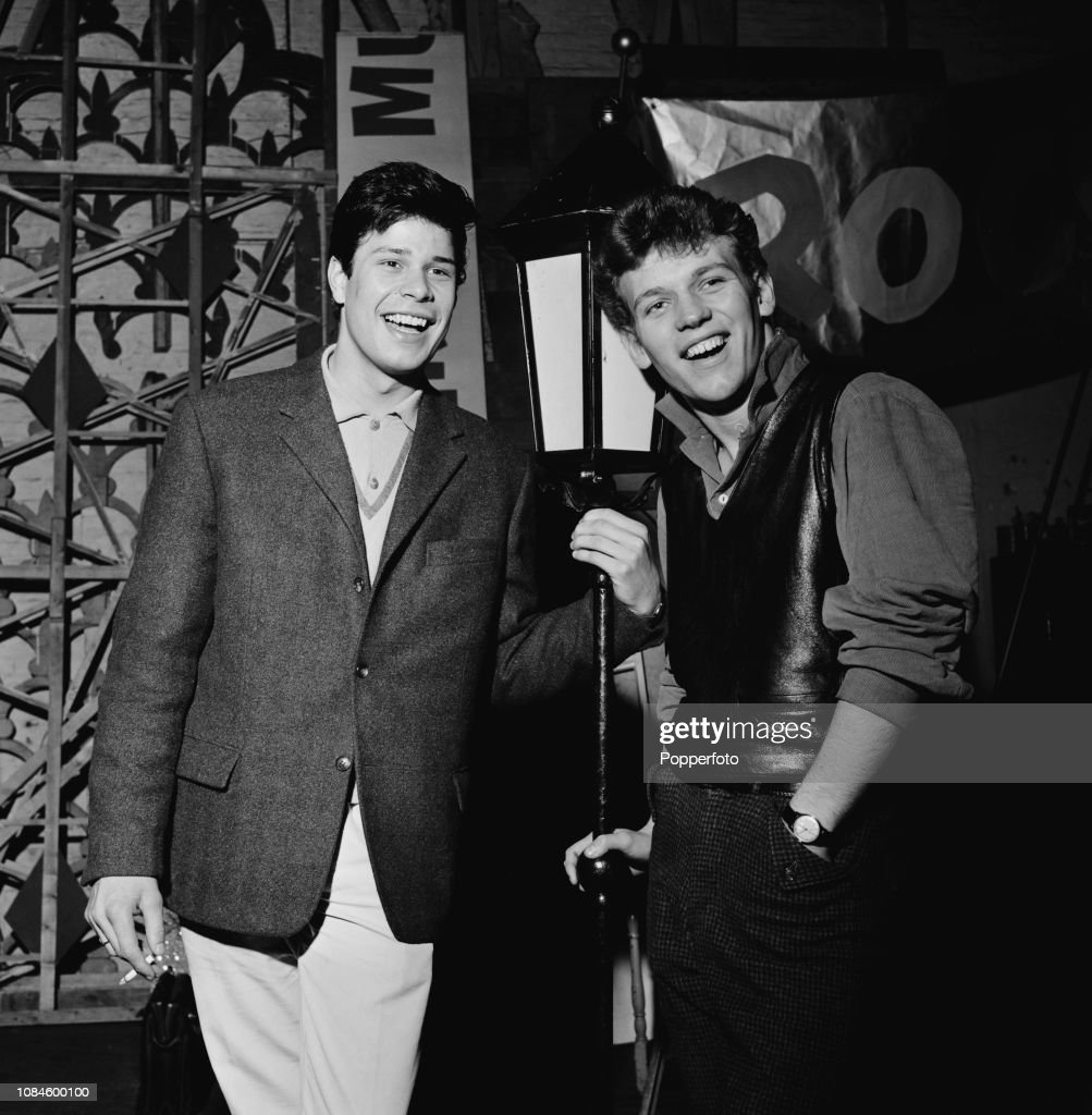English singers Peter Wynne, on left and Duffy Power pictured... News Photo  - Getty Images