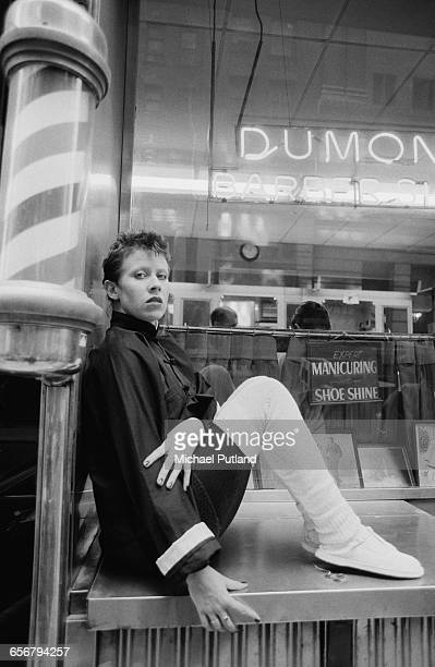 English singersongwriter and actress Hazel O'Connor New York 1981