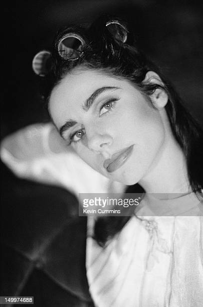 English singersongwriter and guitarist PJ Harvey Dorset January 1995