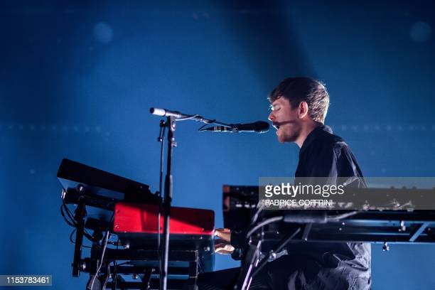 English singersongwriter and multiinstrumentalist James Blake performs during the Montreux Jazz Festival on July 4 in Montreux