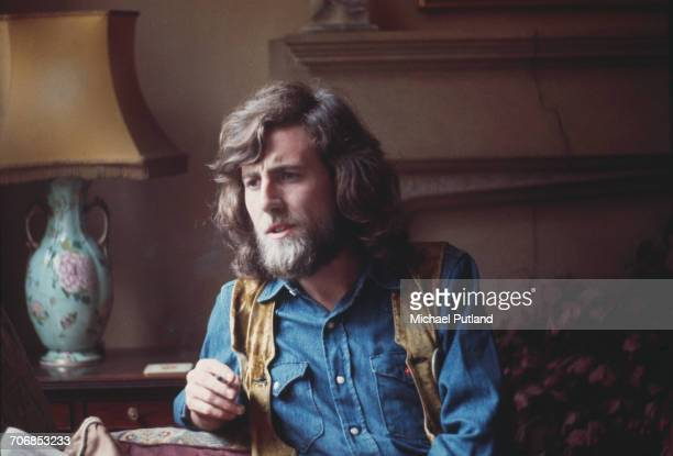 English singersongwriter and musician Graham Nash of Crosby Stills And Nash and The Hollies portrait being interviewed in London 28th October 1970