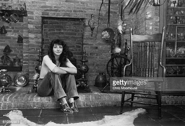 English singersongwriter and musician Kate Bush at her family's home in East Wickham London 26th September 1978