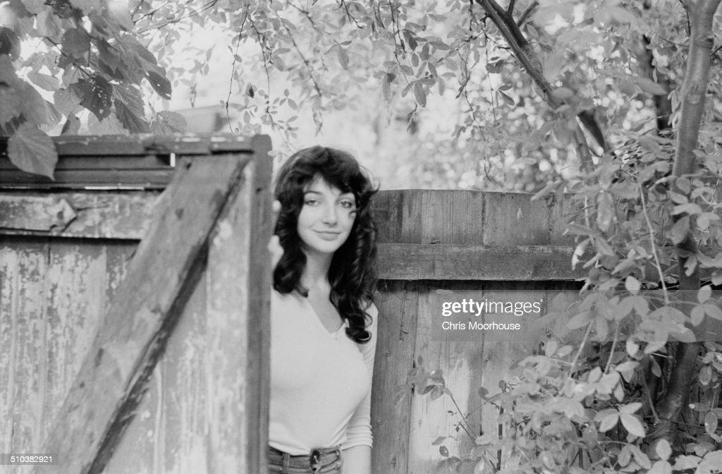 English singer-songwriter and musician Kate Bush at her family's home in East Wickham, London, 26th September 1978.