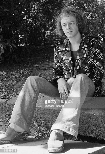English singersongwriter and musician Mike Hugg formerly of Manfred Mann at his home in Hampstead London 25th August 1972