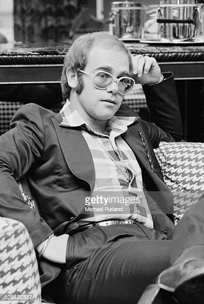 English singer-songwriter and pianist Elton John, June 1974.