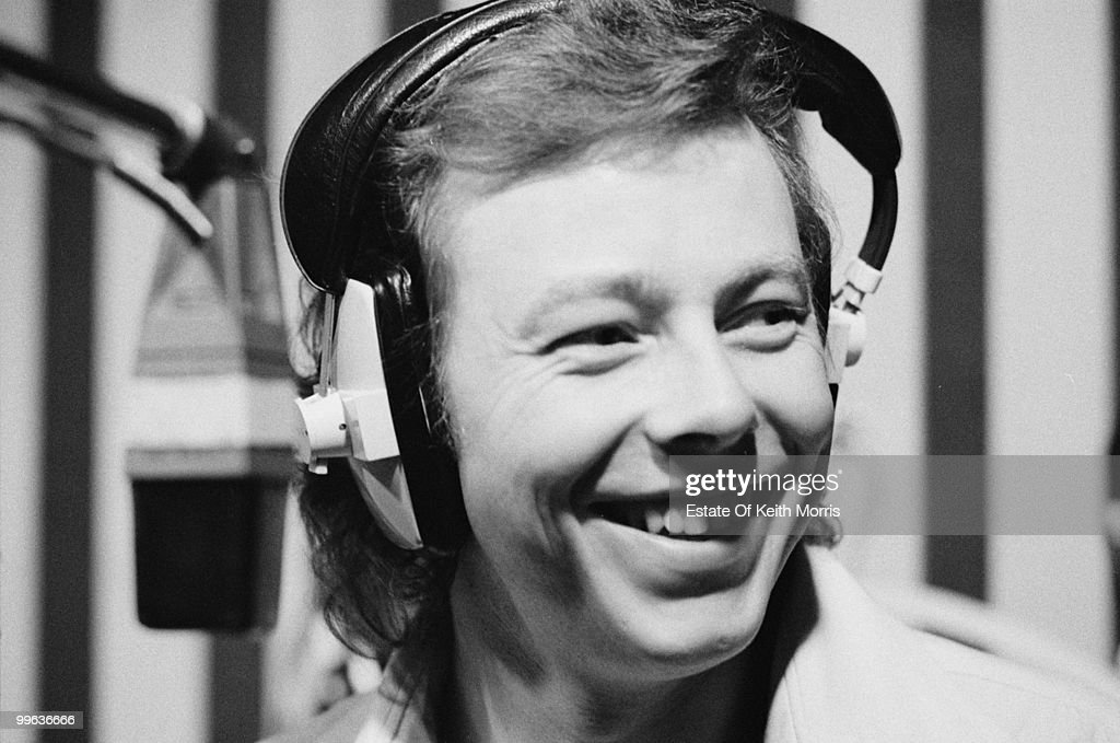 English singer-songwriter and pianist Peter Skellern in London, 1977.